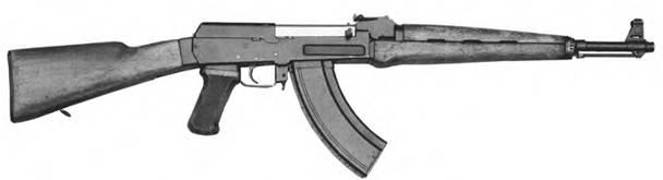 7.62-мм автоматический карабин (автомат) Калашникова. Опытный образец 1956г.