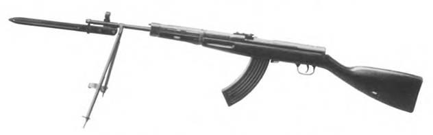 7.62-мм автоматический карабин конструкции Г.С. Гаранина. Опытный образец 19–45г.