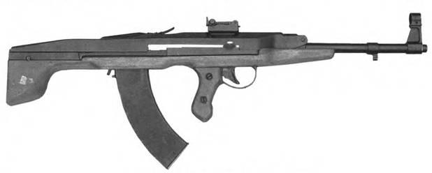 7.62-мм автомат Прилуцкого. Опытный образец..