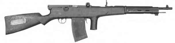 6,5-мм автомат Федорова образца 1916г. первых партий выпуска.