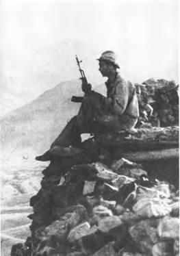 Советский блокпост. Афганистан. 1986г.