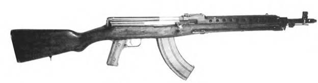 7.62-мм автомат Токарева. Опытный образец.