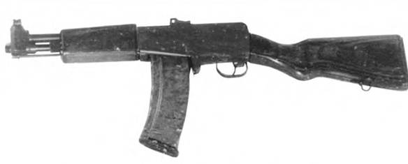 5,45-мм автомат конструкции С.Г. Симонова АГ-042. Опытный образец 1974г.