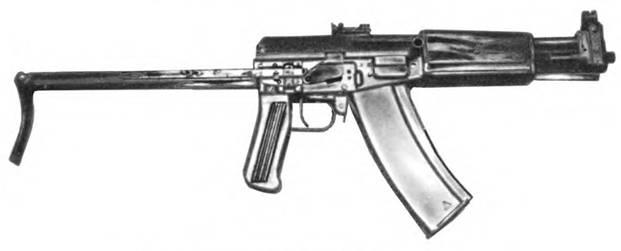 5,45-мм автомат конструкции С.Г. Симонова АГ-043. Опытный образец 1974г.