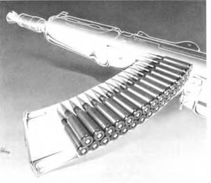 Конструкция секторного двухрядного магазина к 5.45-мм автомату АКС-74У.