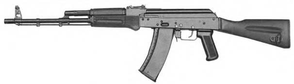 5,45-мм автомат Калашникова АК-74. Опытный образец А-60.