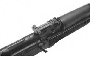 Секторный прицел 5.45-мм автомата Калашникова АК74М.
