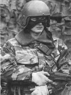 Боец спецназа МВД. Чечня. 1995г.