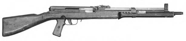 7.62-мм автомат Судаева АС-44. Опытный образец 1944г.