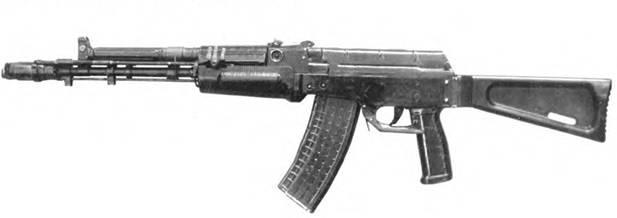 5,45-мм автомат АЕК-971. Опытный образец (первый вариант).