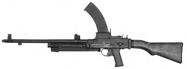 7.62-мм автомат Булкина. Опытный образец 1944г.
