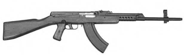 7,62-мм облегченный автомат Судаева ОАС. Опытный образец 1944г.