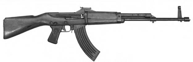 7,62-мм автомат Кубынова. Опытный образец 1946г.