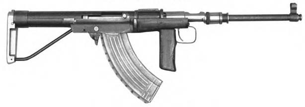 7,62-мм автомат Коровина. Опытный образец 1946г.