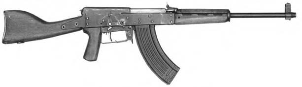 7.62-мм автомат Ефимова АП-34. Опытный образец 1946г.