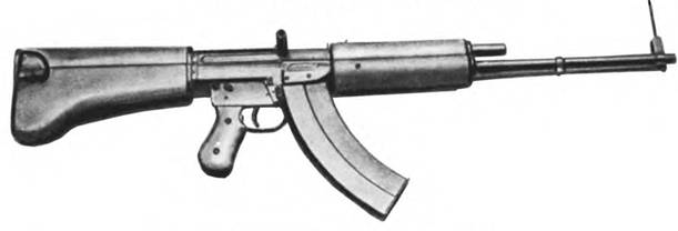 7,62-мм автомат С.Г. Симонова АС-19. Опытный образец 1946г.