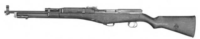 7,62-мм самозарядный карабин Калашникова. Опытный образец 1944г.
