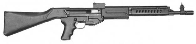 7,62-мм автомат Дементьева АД-46 КВ-11-410. Опытный образец 1948г.