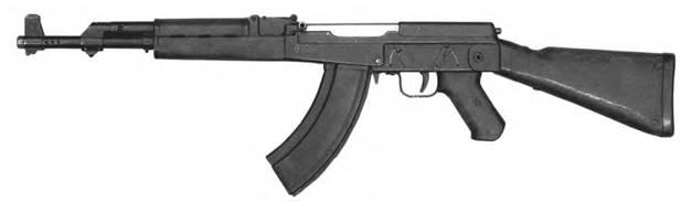 7,62-мм автомат Калашникова АК-1 (АК-46 №1). Опытный образец 1946г.