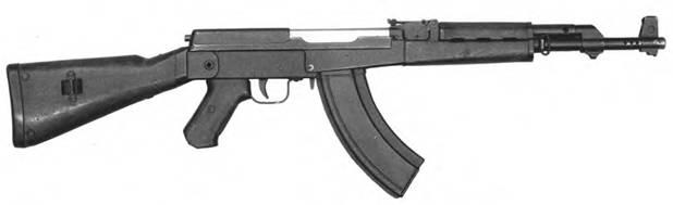 7,62-мм автомат Калашникова АК-1 (АК-46 №1). Опытным образец 1946г.