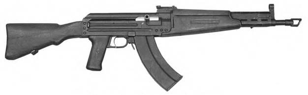 7,62-мм автомат Булкина ТКБ-415. Опытный Образец 1947г.
