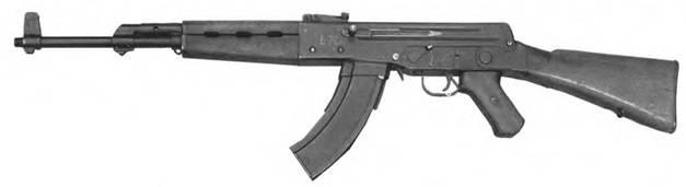 7,62-мм автомат Калашникова АК-1 (АК-46 №2). Опытный образец 1946г.