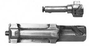 Затвор и затворная рама 7,62-мм автомат Калашникова АК-1 (АК-46 №2).