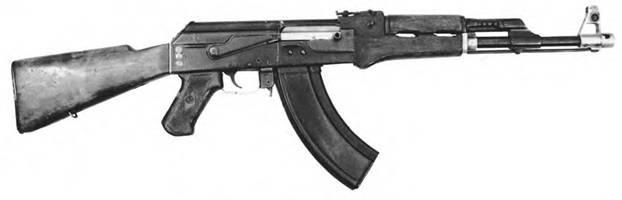 7,62-мм автомат Калашникова КБ-П-580.