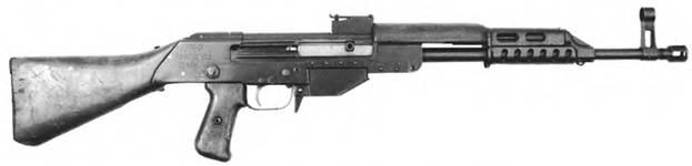 7,62-мм автомат Дементьева КБ-П-520. Опытный образец 1948г.