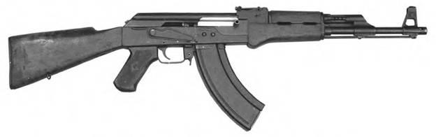 7,62-мм автомат Калашникова АК-47 мод. 2 КБ-П-580 Опытный образец 1948г.