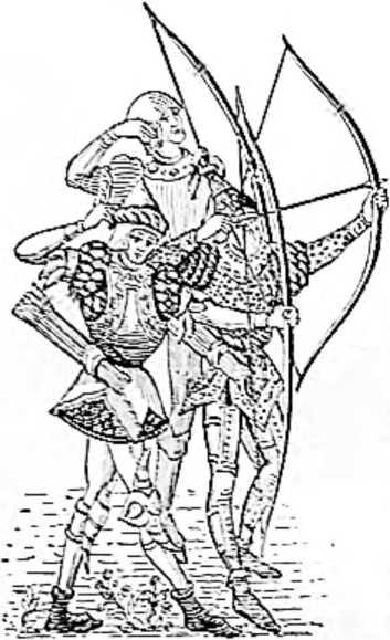 Средневековые лучники.