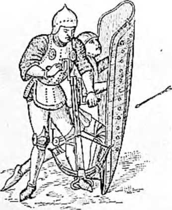 Арбалет с воротом