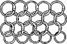 Арабская кольчуга из переплетающихся колец