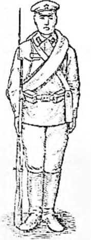 Длина винтовки с примкнутым штыком равна росту среднего человека — сто шестьдесят пять сантиметров