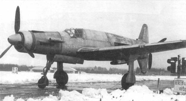 Отреставрированный Do 335А-02 перед окраской.