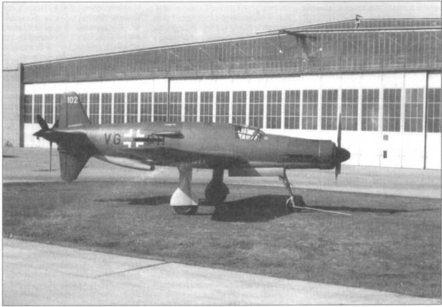 Отреставрированный Do 335А -02.