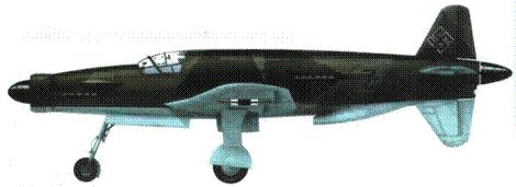 Do 335V3 во время службы в составе l./Versuchsverband OKL.