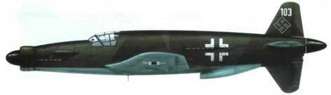 Do 335А-03 в камуфляже RLM 81/82/65. Бортовой код отсутствует.