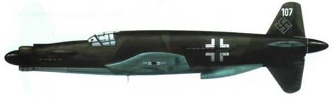 Do 335А-07 в камуфляже RLM 81/82/65.