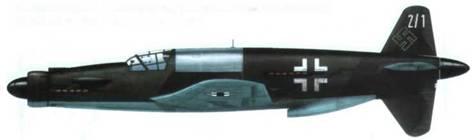 Do 335A-1 (Ml), найденный в Оберпфаффенхофене. Камуфляж RLM 81/82/65. За кабиной панель из неокрашенного дюраля.
