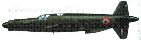 Do 335М17 (прототип В-6), еще один Do 335, попавший к французам.