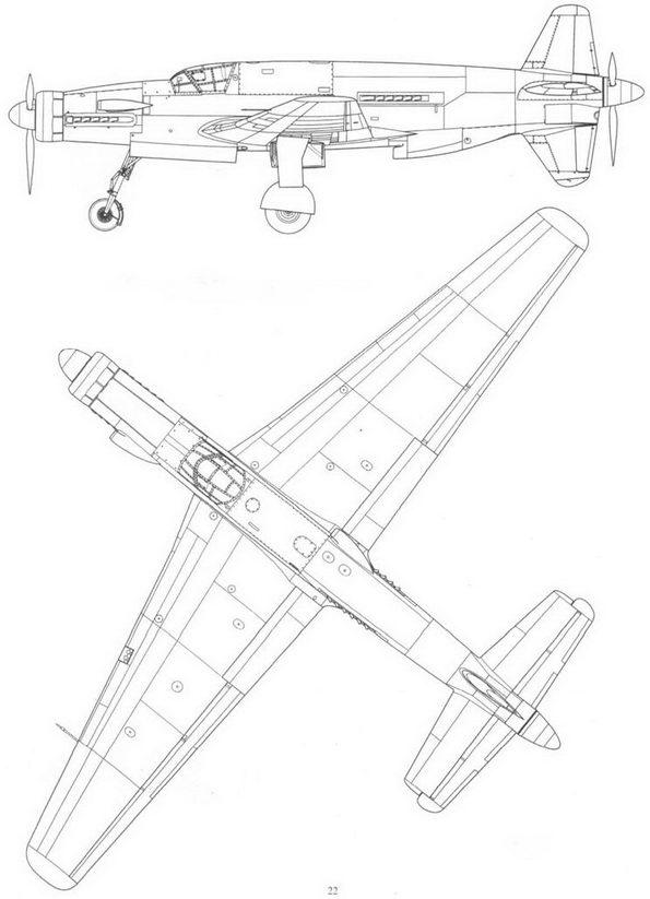 Do 335V4 (CP+UD) во время испытания крыльев с увеличенным размахом.