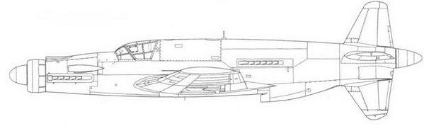 Do 335V6, шестой прототип (реконструкция).