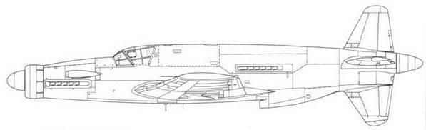 Do 335А-05, пятый предсерийный экземпляр. На самолете не было вооружения.