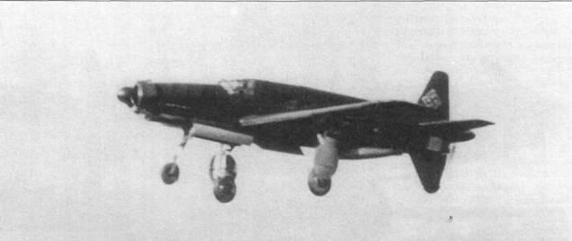 Первый полет Do 335 VI.
