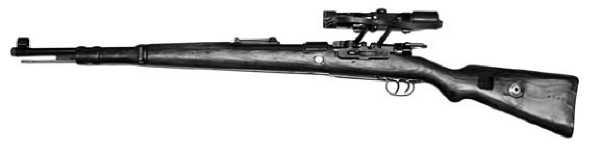 Карабин КО-98 с установленным оптическим прицелом ZF-4.
