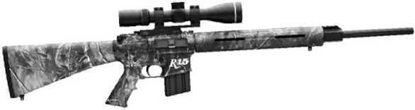 Винтовка Remington R-15 VTR с установленным оптическим прицелом.