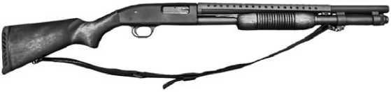 Помповое ружье Mossberg 500.