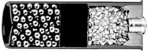 Дробовый патрон 12-го калибра в разрезе.