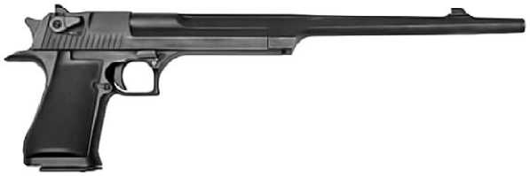 <a href='https://arsenal-info.ru/b/book/4108361891/46' target='_self'>Пистолет Desert Eagle</a> Mk I со стволом длиной 14 дюймов.